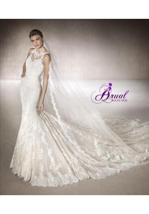 vestido de novia low cost 2017